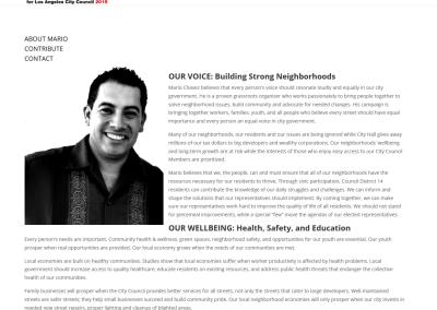 Mario Chavez for Council